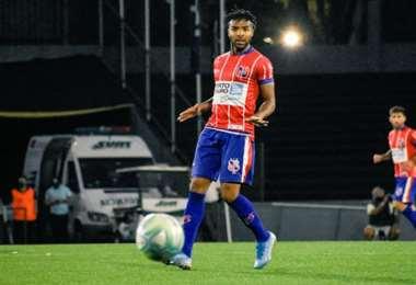 Maximiliano Pereira, ex jugador de Sport Boys de Warnes. Foto: El País de Uruguay