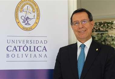 Rector nacional de la Universidad Católica Boliviana