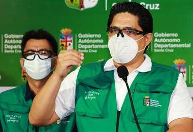 El director del Sedes se mostró preocupado por la pandemia/Foto: Gobernación