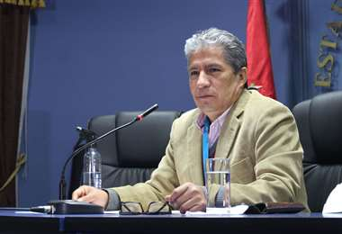 El ministro Novillo