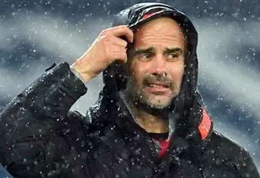 Pep Guardiola, DT del Manchester City. Foto: Internet