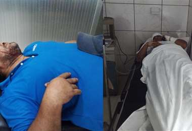 Quinteros fue atendido en un centro de salud