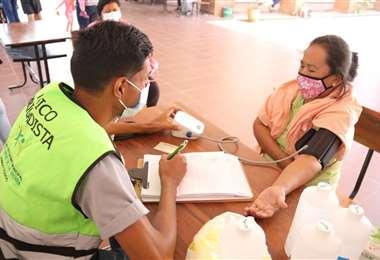 El Sedes pide más personal de salud/Foto: EL DEBER