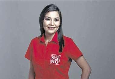 Shirley Franco declina su candidatura a la alcaldía. Foto: Archivo