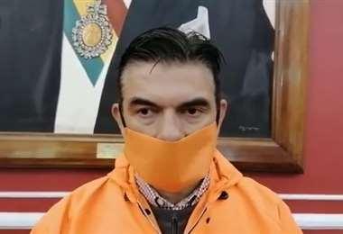 El senador por CC, Rodrigo Paz