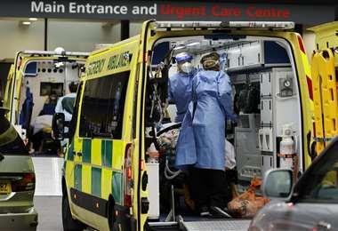 Aumentan los casos de covid-19 en Reino Unido. Foto AFP
