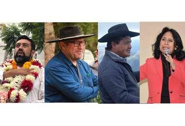Candidatos a la Gobernación de Tarija