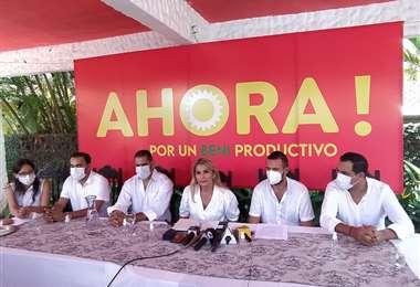 Áñez presentada como candidata I APG Noticias.
