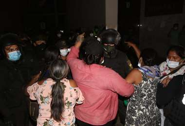 La postulación a la alcaldía de Montero enfrenta al MAS. Foto: Juan Carlos Torrejón