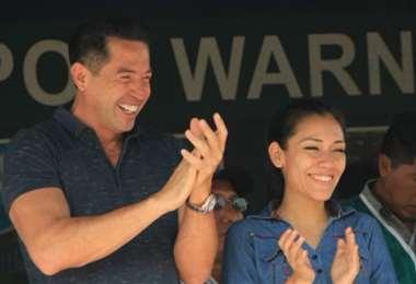 Salvatierra y Cronenbold candidatos por el MAS