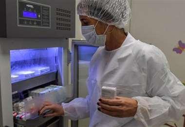 La vacuna no puede quedar expuesta a temperaturas superiores a -70ºC