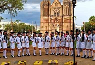 Bachilleres del municipio de San Matías/ Foto: Juan Pablo Cahuana