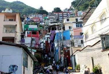 La red criminal actuaba en un suburbio de Río de Janeiro