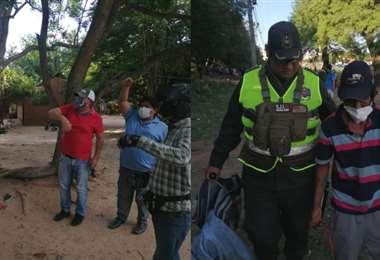 En este intento de desalojo no hubo ningún arrestado| Foto: J.Torrejón