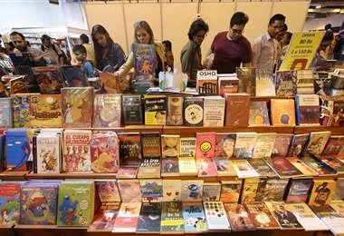 Esta es la 21 versión de la Feria del Libro de Santa Cruz de la Sierra