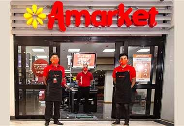 Foto: Amarket se inaugura este jueves en Cochabamba