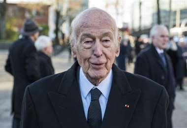 Valéry Giscard d'Estaing, foto tomada en noviembre de 2015/Foto: AFP