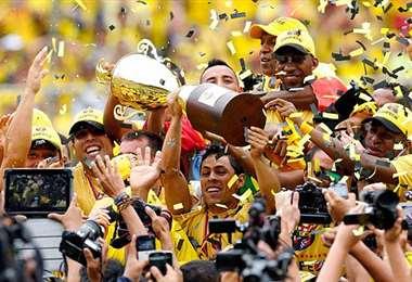 Barcelon logró el martes un nuevo título en Ecuador. Foto: internet