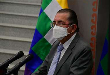 El ministro Édgar Pozo I APG Noticias.