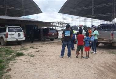 Niños rescatados en San Juan/Foto: Soledad Prado