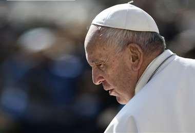 El sumo pontífice tiene 84 años. Foto: AFP