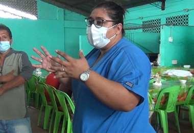 Las autoridades en San Carlos trabajan en medidas contra el rebrote (Foto: Soledad Prado)