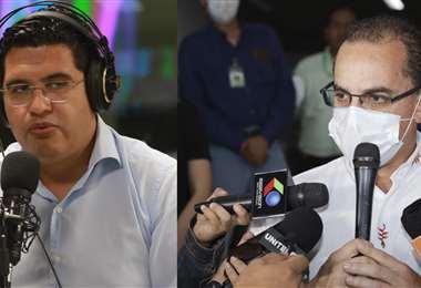 Aguilera y Peña renuncian a la Gobernación