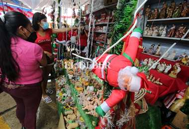 Se aviva el comercio navideño en La Ramada