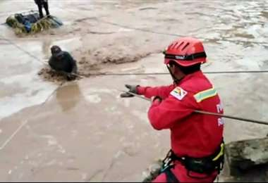 El rescate en Potosí I Policía.