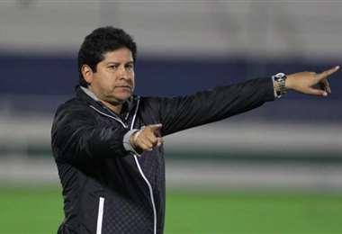 Eduardo Villegas, entrenador cochabambino. Foto: internet
