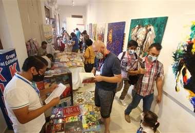 La Feria del Libro tiene dos sedes, en el Museo de la Ciudad y en la Casa Melchor Pinto