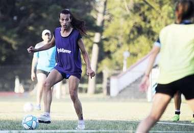 Mara Gómez, futbolista transgénero. Foto: internet