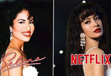 La actriz estadounidense Christian Serratos interpreta a Selena Quintanilla