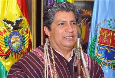 Novillo, cuando era gobernador de Cochabamba.