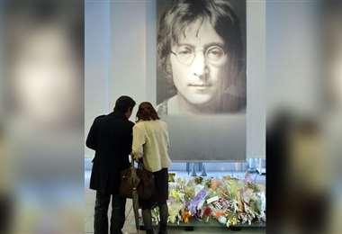 Recordando a John Lennon, ex The Beatles/Foto: AFP