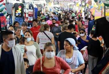 167 nuevos casos positivos de Covid-19 en Bolivia. Foto: Fuad Landívar