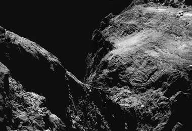 El cometa 67P/Churyumov-Gerasimenko