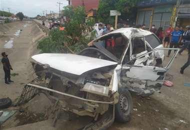 Fallece un conductor tras accidente en 3 pasos al frente. Foto:Fundación Rescate Urbano