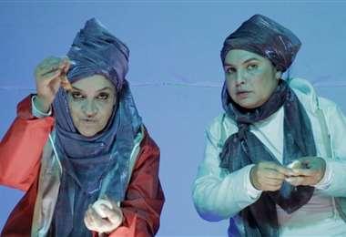 Lorena Sugier y Emi Chávez protagonizan Zeitgeist, bajo la dirección de Ubaldo Nállar