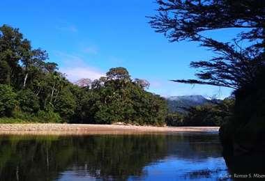 Rio Ichoa en la zona del Chapare