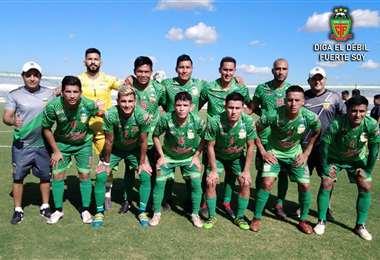 Torre Fuerte, equipo cruceño que quiere ascender a la División Profesional. Foto: internet