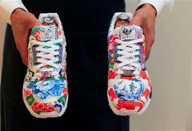 Zapatillas de un millón de dólares/Foto: AFP