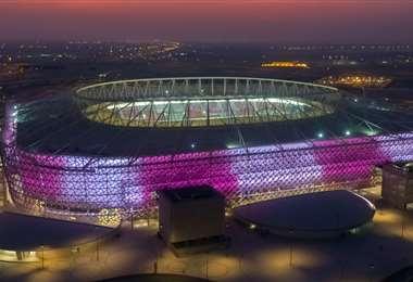 Así luce el estadio Al-Rayyan. Foto: Internet