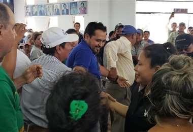 Un bloque proclamó candidato a Cristhian Cámara, otro lo desconocen (Foto: Informándote)