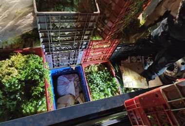 El cargamento de verduras I Aduana Chile.