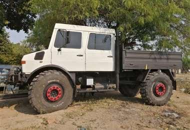 El vehículo que requieren los bomberos quebracho para el rabajo en incendios forestales