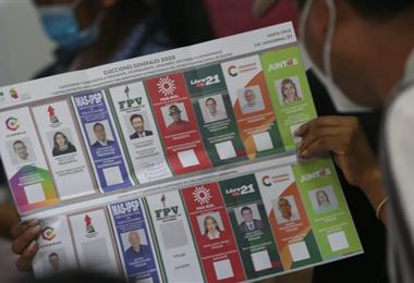Las elecciones del 18 de octubre de 2020.