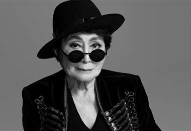 La artista conceptual japonesa Yoko Ono