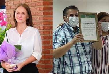 Paola Parada y Duberty Soleto