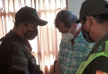 Luis Gerardo Nogales Cuéllar, con detención preventiva